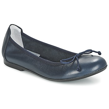 Acebo's Ballerine Cuir Marine Acebo's : chaussures Janel chaussures : 0f6d19