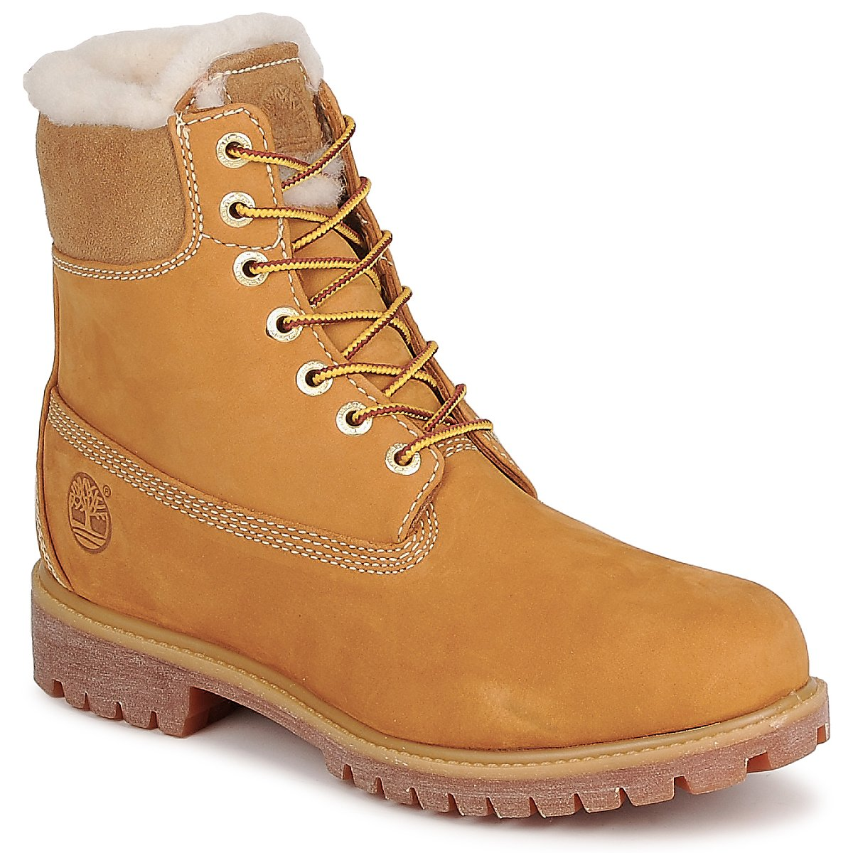 Doublée Boots Laine Wheat Inch Icone Timberland 6 FRAw4vFq