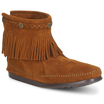 Marron Top Back Minnetonka Hi Boot Zip UzGSLqMVp