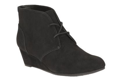 3fe6cfa008e846 Vendra Peak Daim noir Clarks : Janel chaussures, chausseur dans le ...