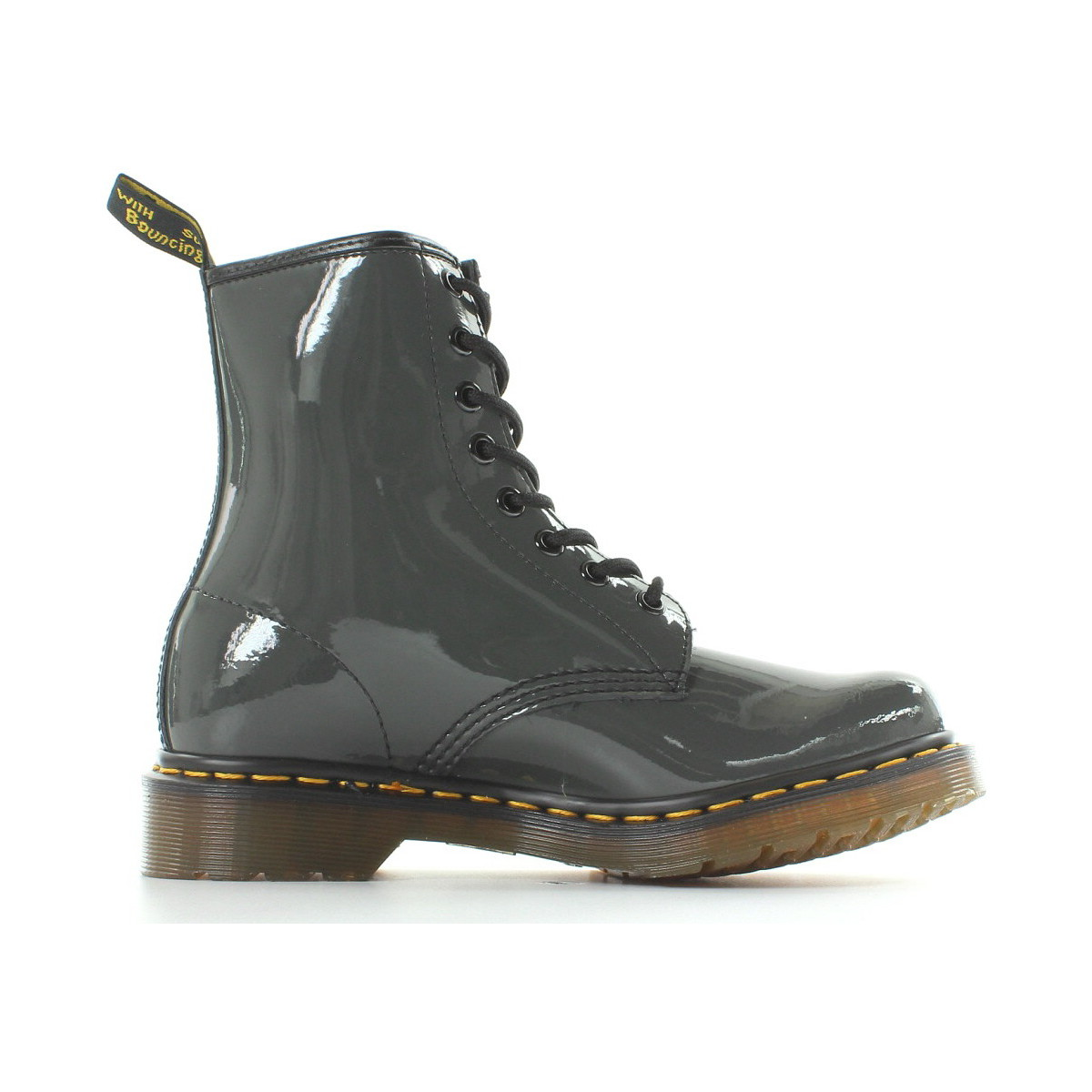 203750a7192 Dr Martens 1460 Vernis Gris Dr Martens   Janel chaussures