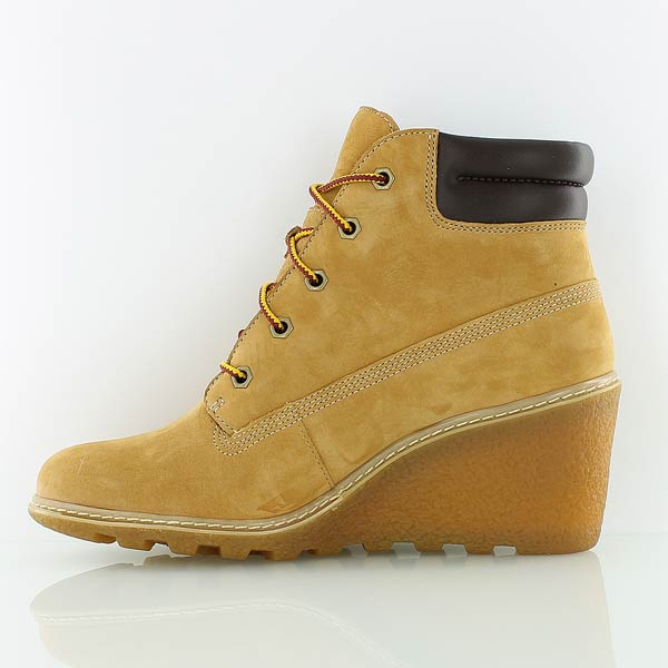 basket femme compensee timberland
