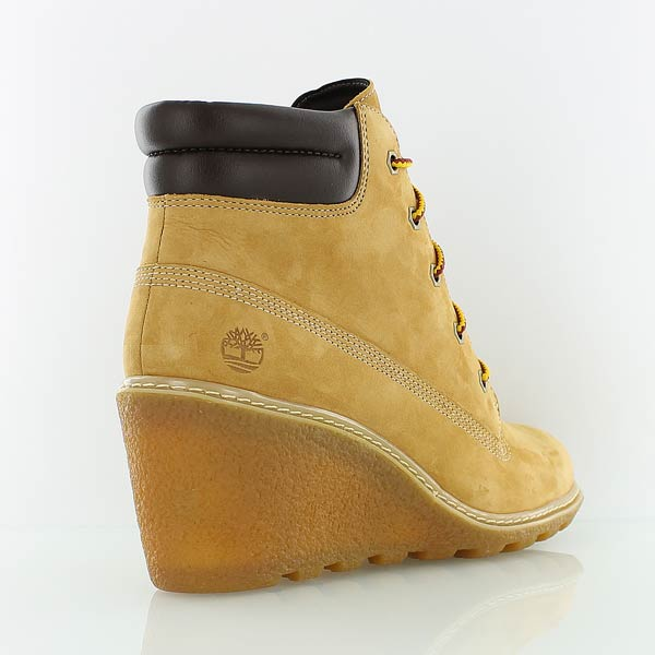 bottines compensees timberland