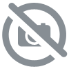Chaussons FEMME Velours - grand noeud girafe